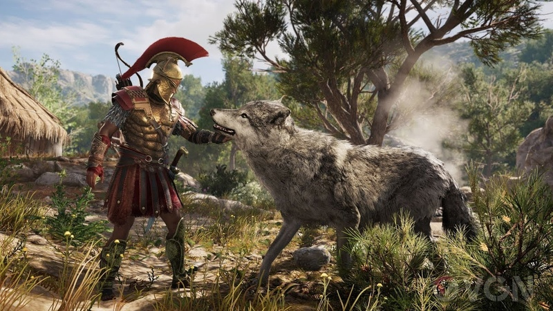 Assassin's Creed Odyssey Тест не Нового Компа35