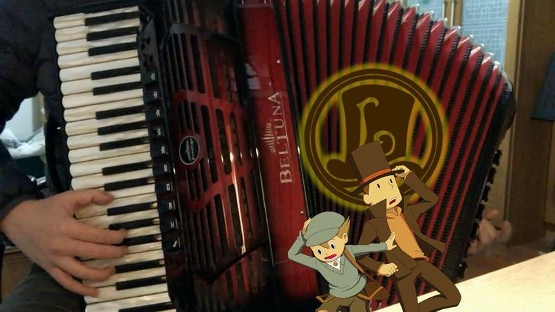 [Accordion]Professor Layton - Theme of the Last Time Travel - Short.Ver