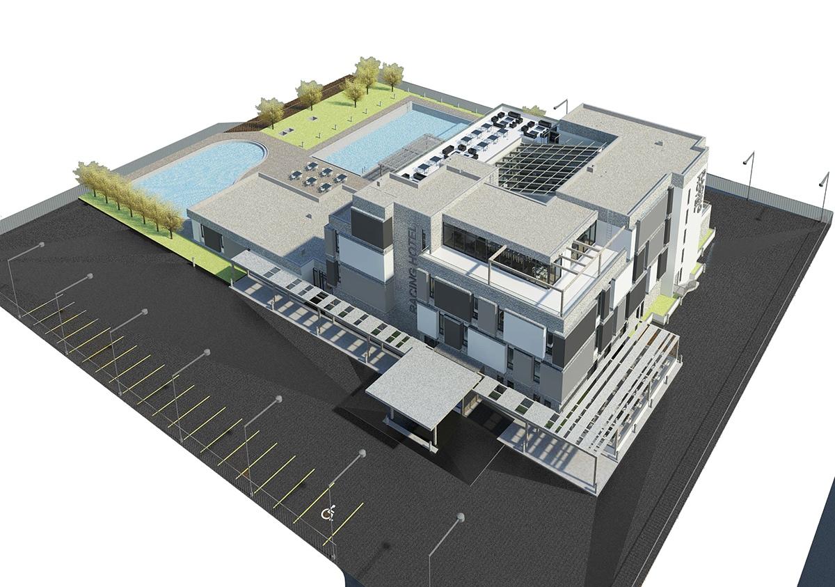 Полное проектирование отеля Алматы