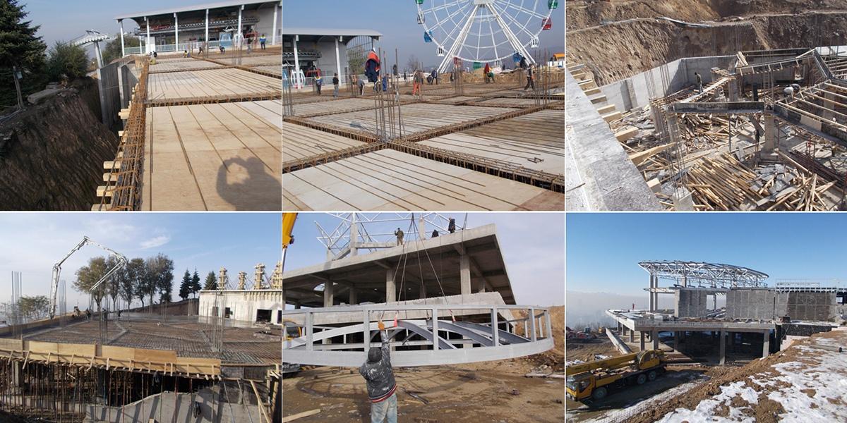 Строительство ресторана в Алматы