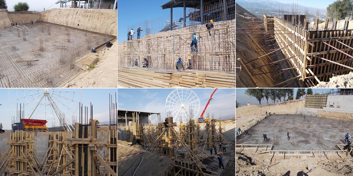 Ресторан в Алматы проектирование строительство