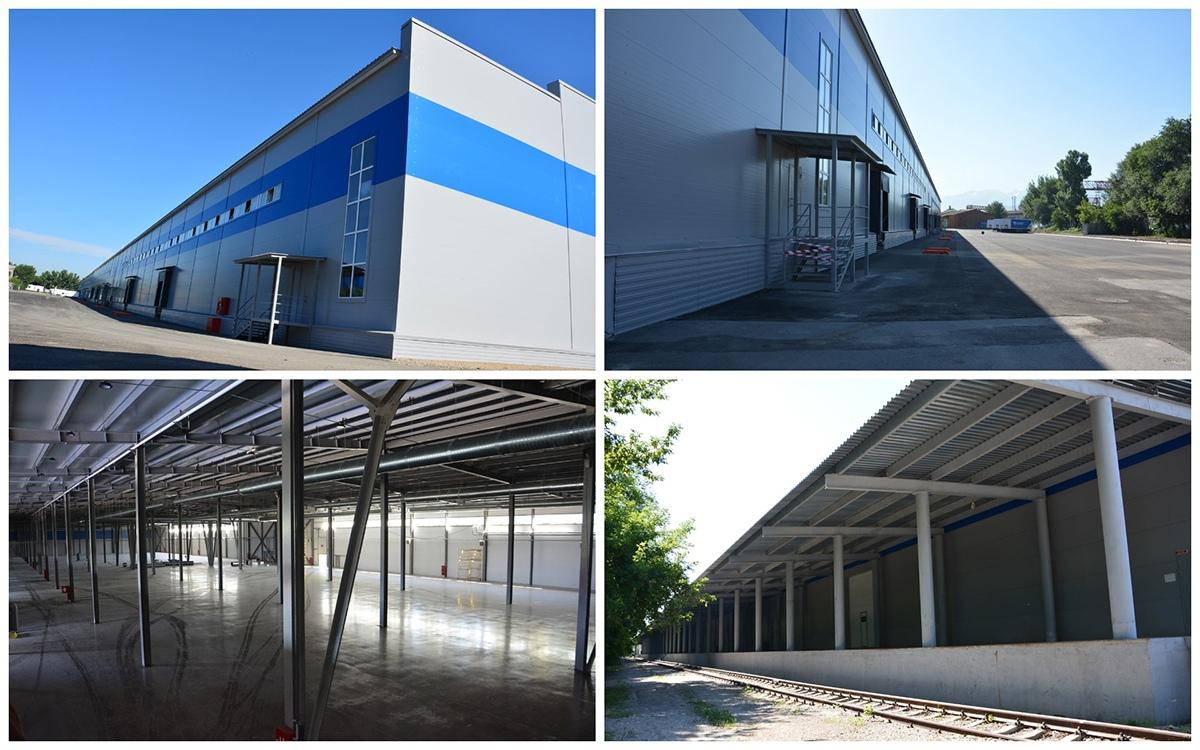 Строительство склада в Алматы