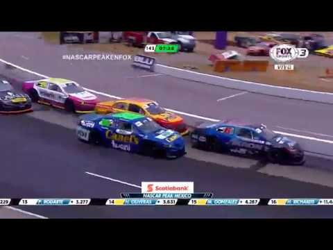 NASCAR PEAK Mexico Series 2018. Autódromo Potosino. Last Laps