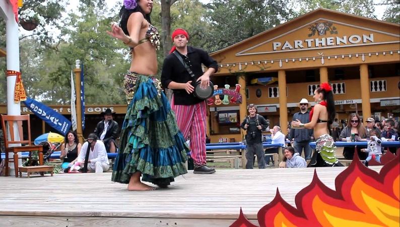 Belly-dancing Gypsies