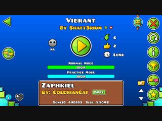 Geometry Dash-Vibrant By Shatt3rium & MegaBro(me)