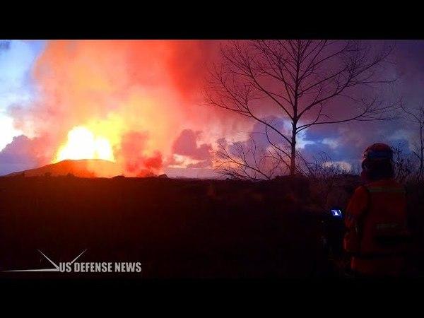 Hawaii Volcano Prompts New Warning - Heed Evacuation Order or Face Arrest