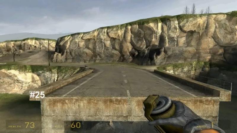 Half-Life 2. Features. Part 2 - 43 secrets and bugs Особенности. Часть 2 - 43 Секрета и бага