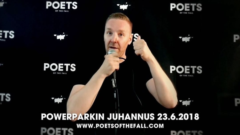 "Poets of the Fall on Instagram: ""This Saturday we'll celebrate the Midsummer by performing at PowerParkin Juhannus in Kauhava, Finland with some ot..."