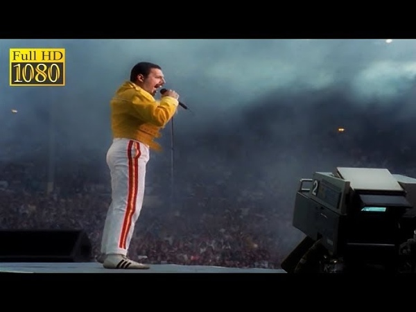 Queen - One Vision Live At Wembley Stadium 1986 Freddie Cam 1080p FULL HD