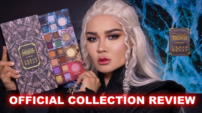 URBAN DECAY GAME OF THRONES MAKEUP COLLECTION REVEW LOOK MaryamNYC
