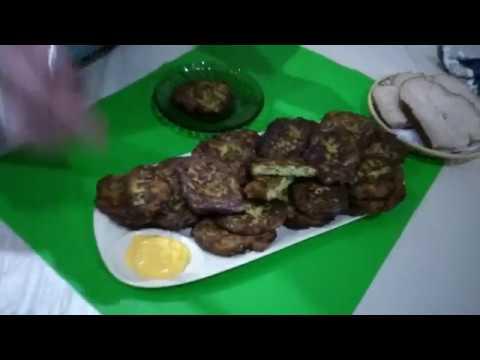 Ցուկկինի Կոտլետնր - Оладьи из кабачков - Fritters from courgettes