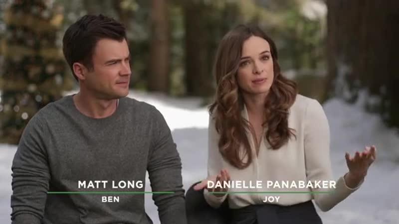 Danielle Panabaker and Matt Long via Hallmark Channel