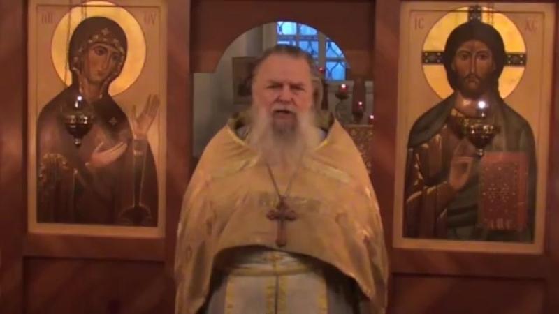 Священник Павел Адельгейм Проповедь на Литургии в храме свв Жён мироносиц Псков 11 11 2012