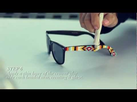 D.I.Y. Mosley Tribes Beaded Sunglasses   MTV FORA