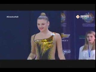 Aleksandra Soldatova - Hoop - EF - World Cup Tashkent 2018