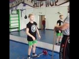 Первая тренировка Алексея в рамках проекта
