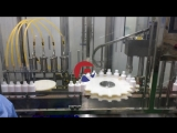 Reliance 100ml,150ml,200ml plastic bottle filling capping labeling machine, 4 heads filler