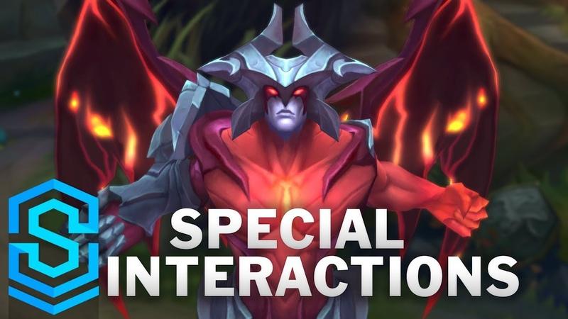 Aatrox Special Interactions