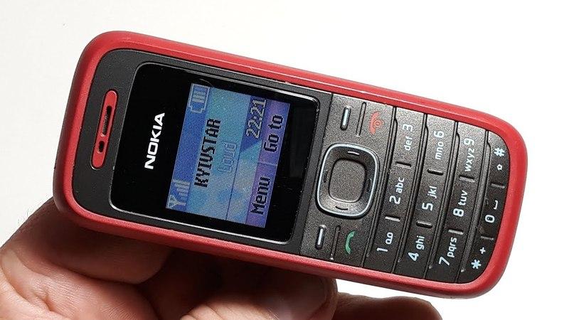 Nokia 1208 Телефон из Германии Наговорили 13 часов