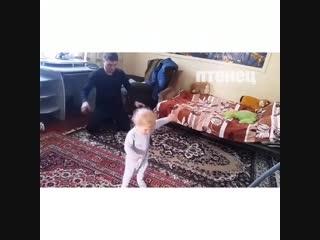 Когда оставили отца с ребёнком