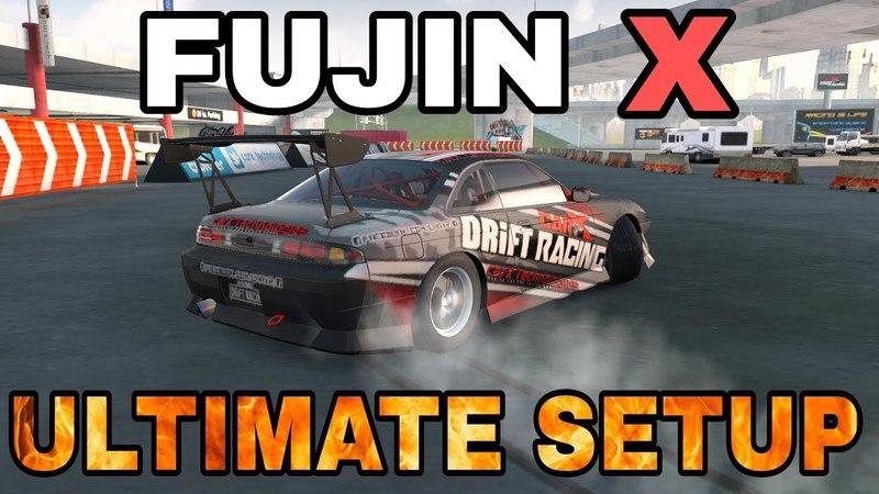 Fujin X Ultimate Setup Test Drive! (Nissan Silvia S14 Tuned) | CarX Drift Racing