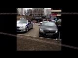 ⚡BMW X5 только что сбил насмерть пешехода (женщина дворник из местного ГБУ) и врезался в стену. Люблинская улица, Москва