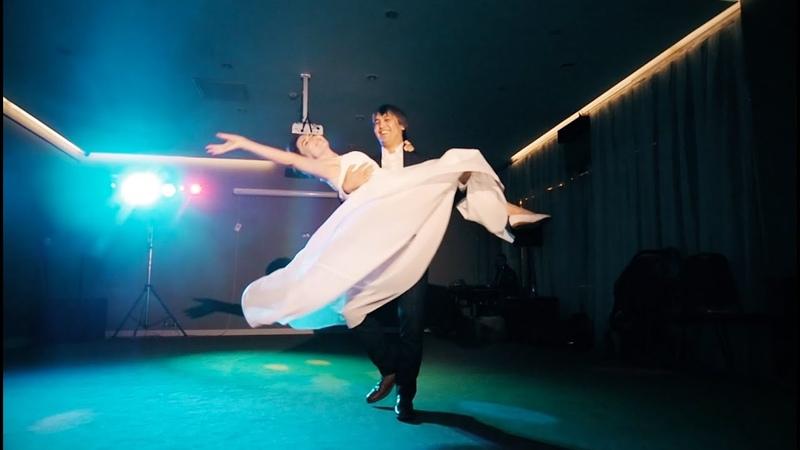 Свадебный танец в стиле Zouk Ерлан и Мария Ажибаевы 2017