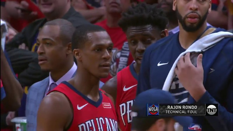 NBA PORTLAND TRAIL BLAZERS vs NEW ORLEANS PELICANS Round1 Game4 April,21 2018