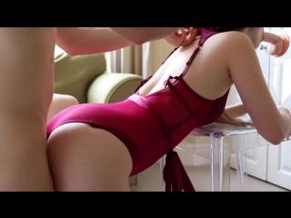 Secretseductions-girl in lingerie fulfils spit-roast fantas(pov/creampie/amateur/blowjob/hardcore/жесткое порно/порно/домашнее/)