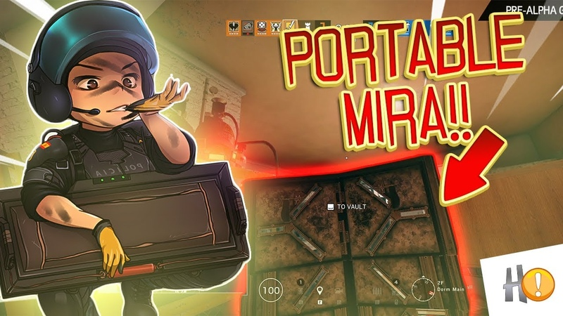 When Pros Potato | New See Through Shield - Portable Mira - Rainbow Six Siege Highlights 198