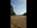 Маленький пляж на раваях