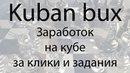 Kuban bux заработок на буксе с особой системой Какой букс выбрать и заработать