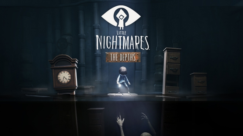 Little Nightmares The Depths DLC 5 ( lets play horror) прохождение на русском