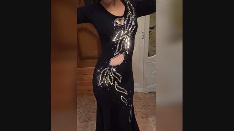 Платье со стразами ✨