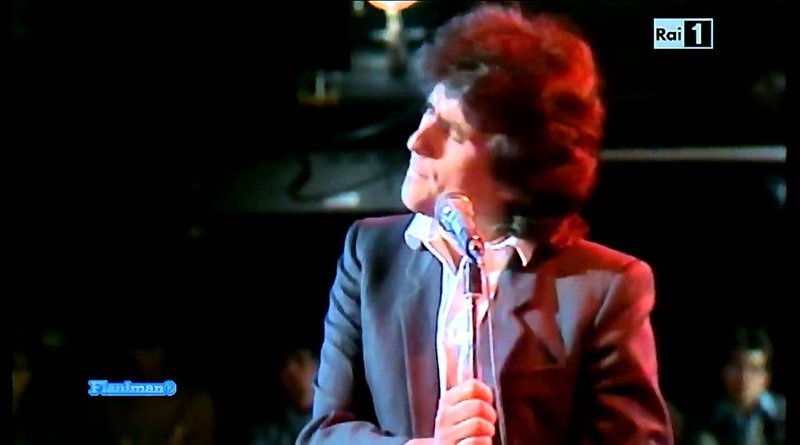 ♫ Toto Cutugno ♪ La Mia Musica TV Show 1981 ♫ Video Audio Restored HD