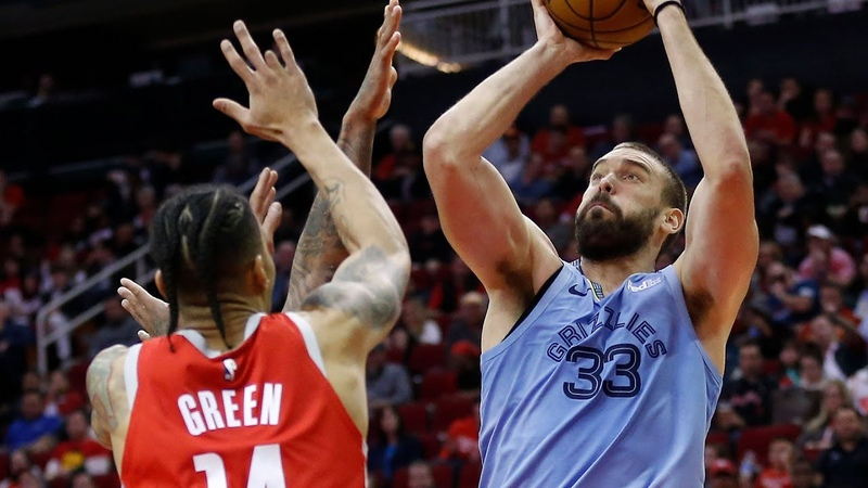 Memphis Grizzlies vs Houston Rockets Team Highlights | January 14, 2019 | NBA Season 2018-19