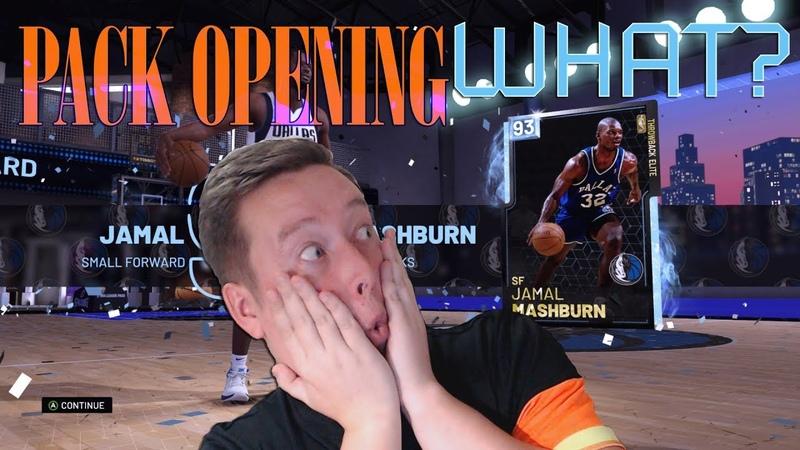 PACK OPENING 93 JAMAL MACHBURN NBA 2k19