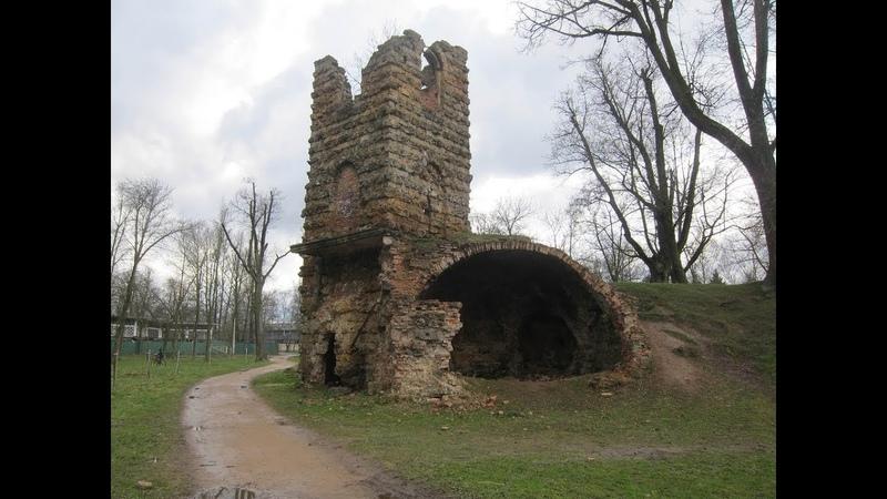 Говорящие руины - Башня-руина.