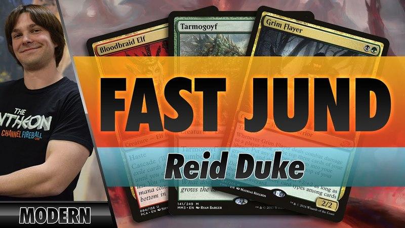 Fast Jund - Modern   Channel Reid