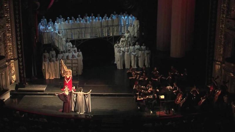 Опера Дидона и Эней Одесский оперный театр 10 09 16