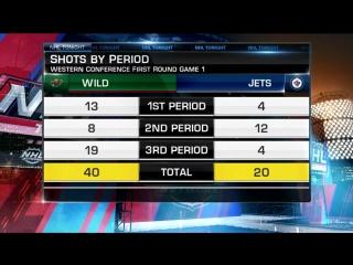 Nhl tonight: jets vs. wild apr 11, 2018