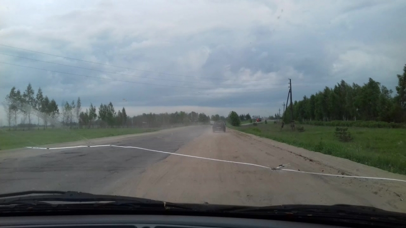 так мы добираемся до деревни Дорога Спасск Ижевское