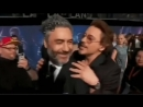 RDJ and Taika Waititi (gif)