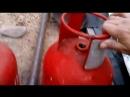 Замена вентилей на газовых баллонах