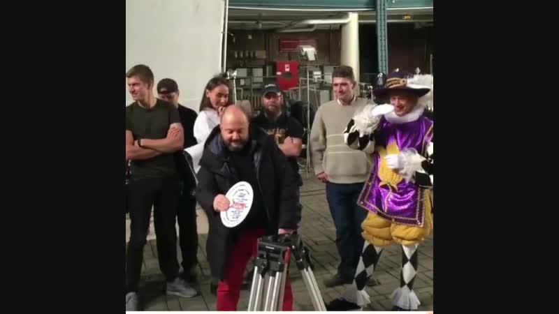 Начало съёмки новогоднего мюзикла Золушка (2018)