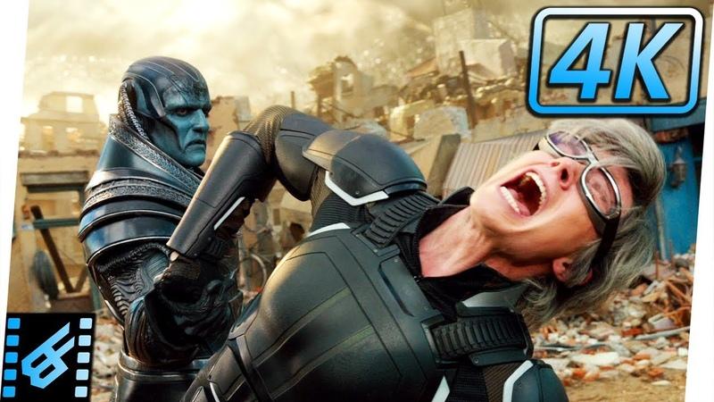 Quicksilver vs Apocalypse | X-Men Apocalypse (2016) Movie Clip