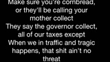 Kendrick Lamar - m.A.A.d city (Lyrics)
