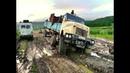 Такого никто не ОЖИДАЛ Мощные грузовики КРАЗ, КАМАЗ, УРАЛ на бездорожье севера