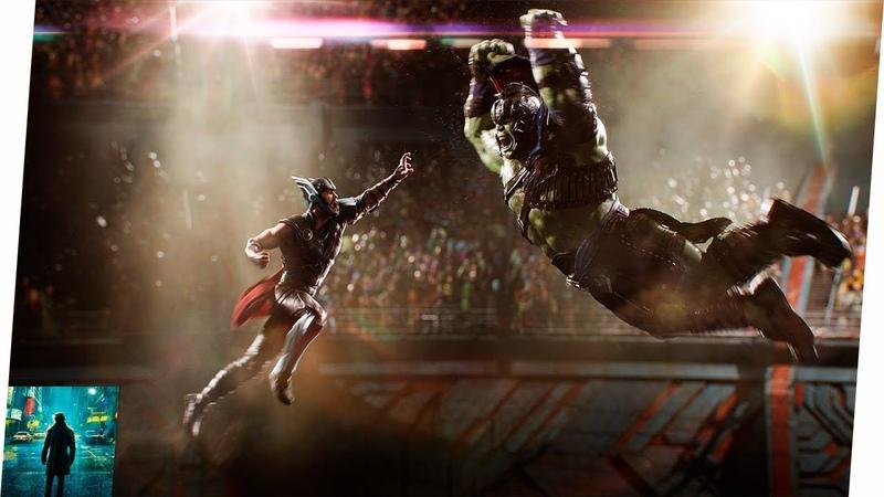 Thor vs Hulk em Thor: Ragnarok (Dublado)