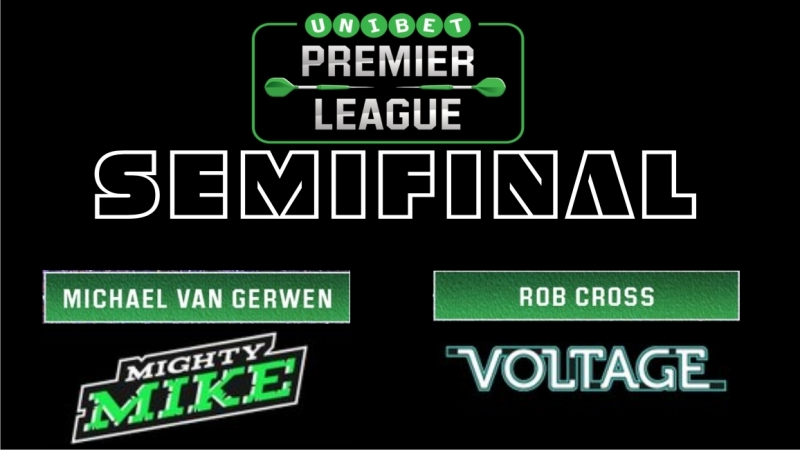 Michael van Gerwen vs. Rob Cross _ SEMI-FINAL _ Premier League of Darts 2018 [FU